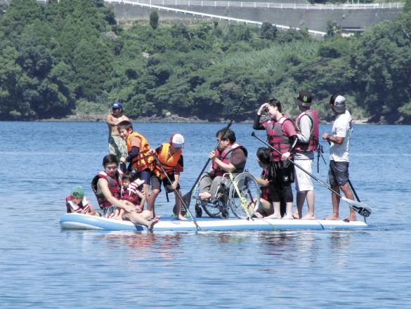 【水とともに】水俣病という大きな試練を経た海で 今年SUP全国大会が開催